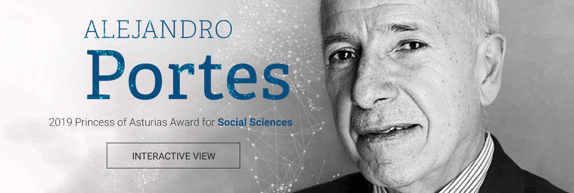 Alejandro Portes - 2019 Princess of Asturias Award for Social Sciences