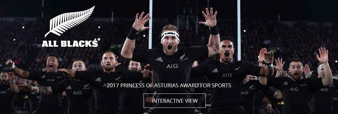 All blacks - 2017 Princess of Asturias Award for Sports