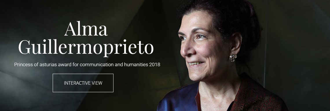 Alma Guillermoprieto - 2018 Princess of Asturias Award for Communication and Humanities