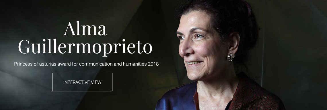 Alma Guillermoprieto - 2018 Princess of Asturias Award for Communication and Humanities