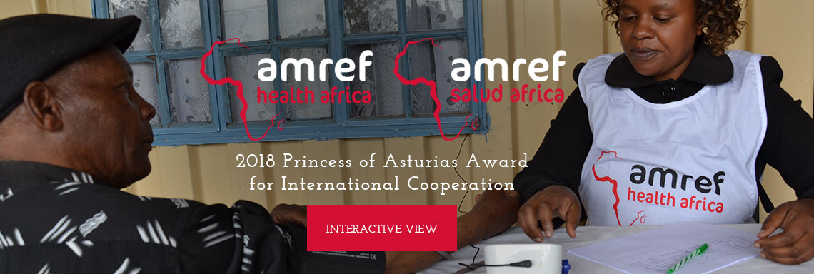 Amref Health Africa - 2018 Princess of Asturias Award for International Cooperation