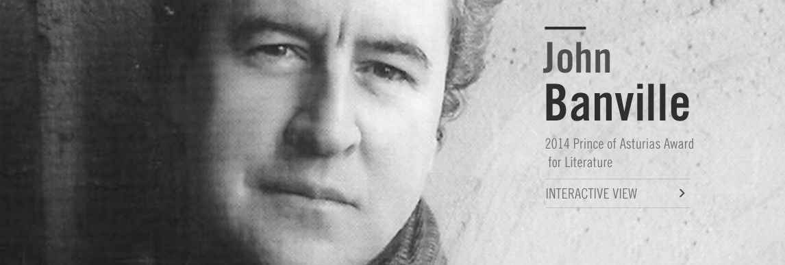 John Banville, 2014 Prince of Asturias Award for Literature