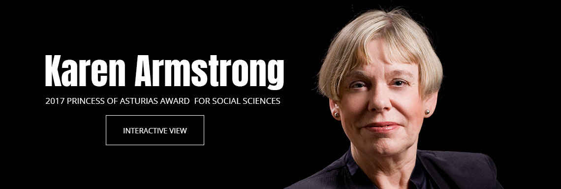 Karen Armstrong - 2017 Princess of Asturias Award for Social Sciences