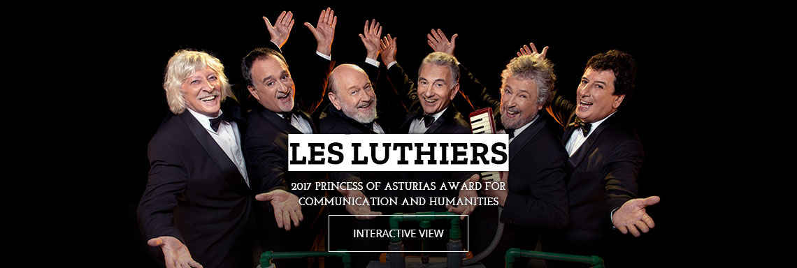Les Luthiers - 2017 Princess of Asturias Award for Communication and Humanities