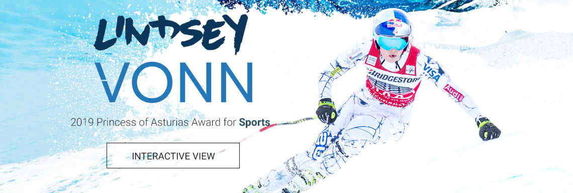 Lindsey Vonn - 2019 Princess of Asturias Award for Sports