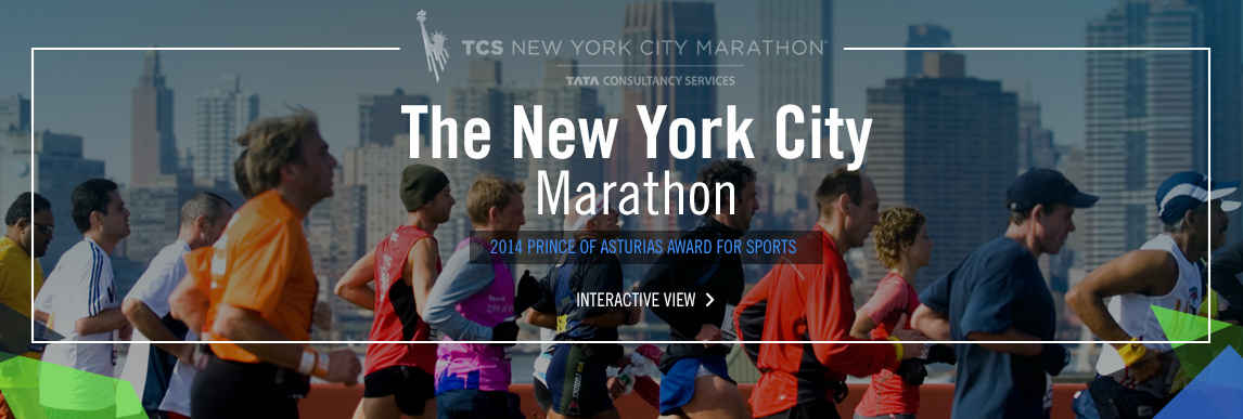The New York City Marathon, 2014 Prince of Asturias Award for Sports
