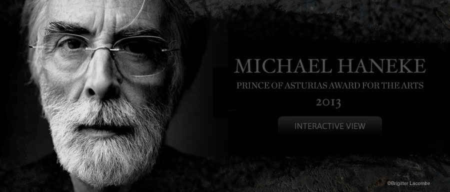 Michael Haneke, 2013 Prince of Asturias Award for Arts