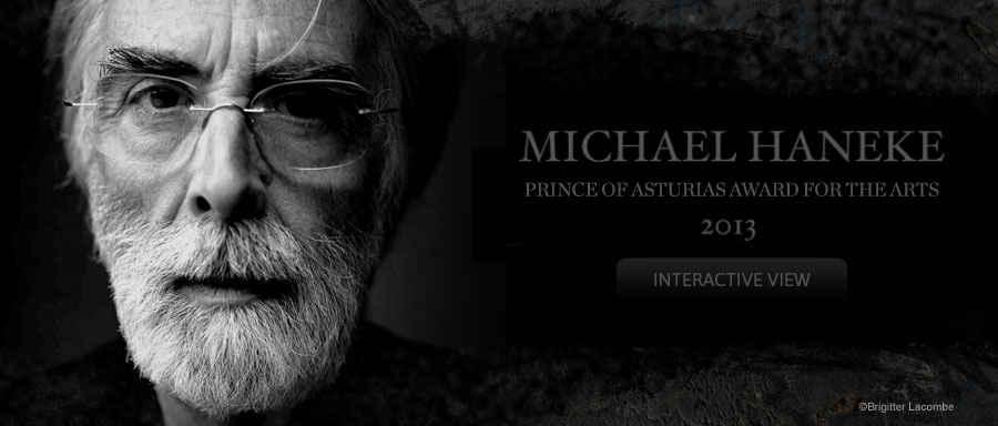 Michael Haneke, 2013 Prince of Asturias Award for Arts