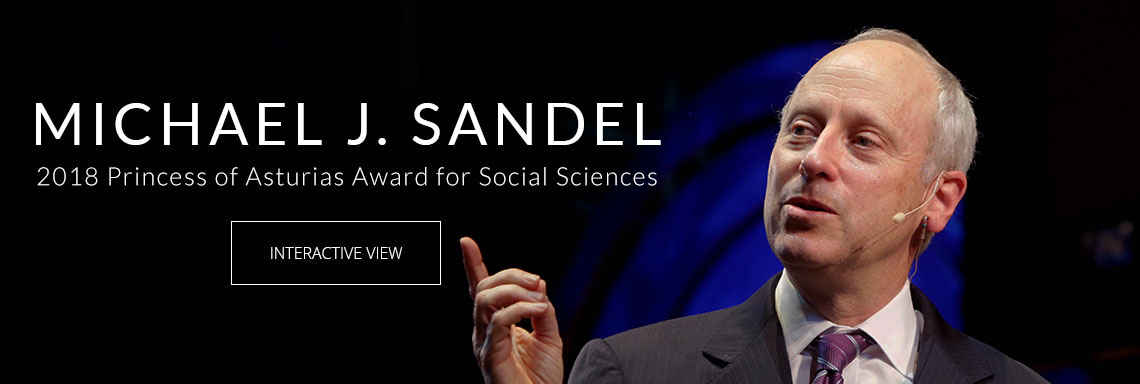 Michael J. Sandel - 2018 Princess of Asturias Award for Social Sciences