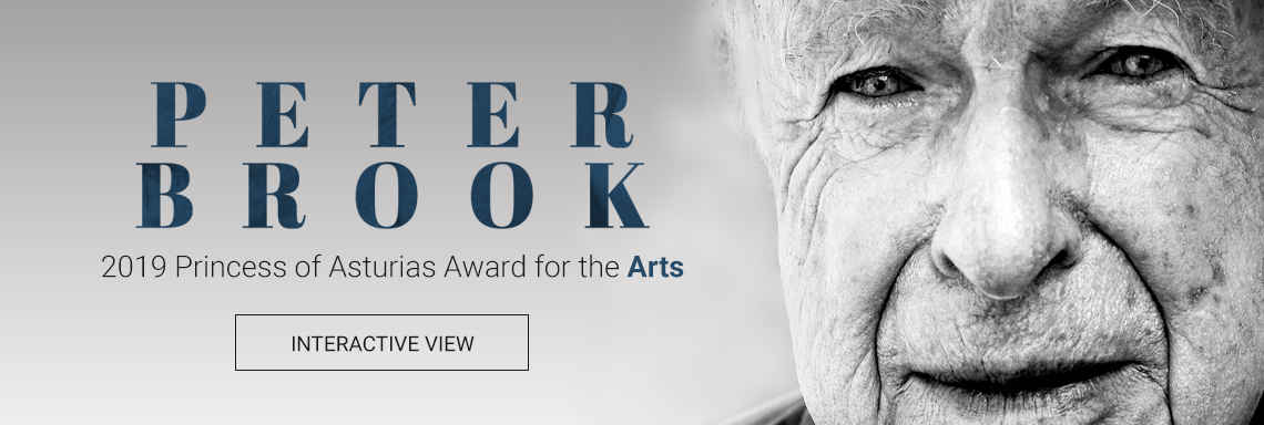 Peter Brook - 2019 Princess of Asturias Awards for the Arts
