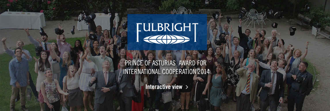 Fulbright Program , 2014 Prince of Asturias for International Cooperation