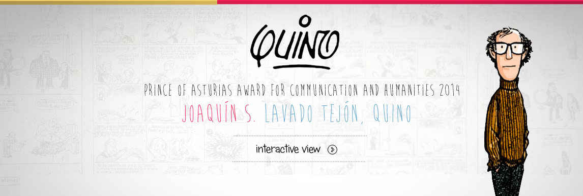 Quino, 2014 Prince of Asturias Award for Communication and Humanities