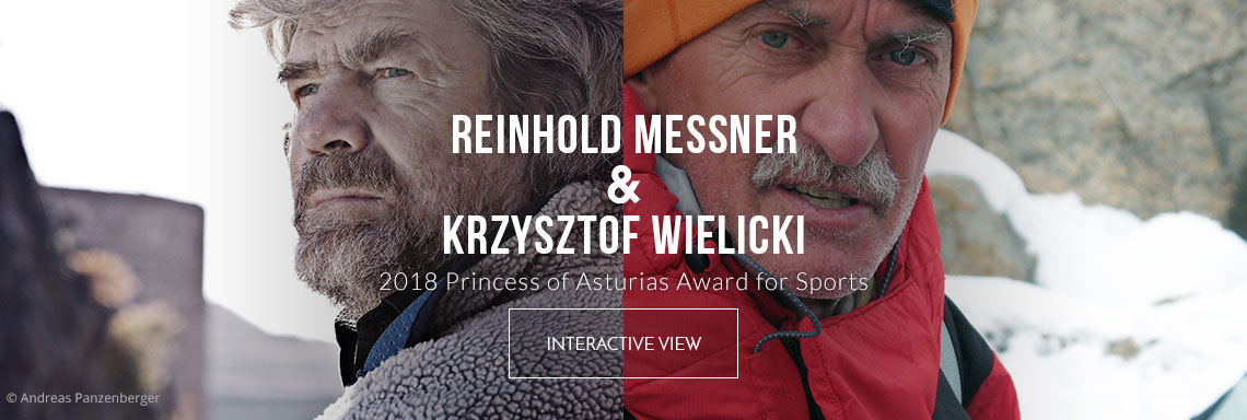 Reinhold Messner and Krzysztof Wielicki - 2018 Princess of Asturias Award for Sports