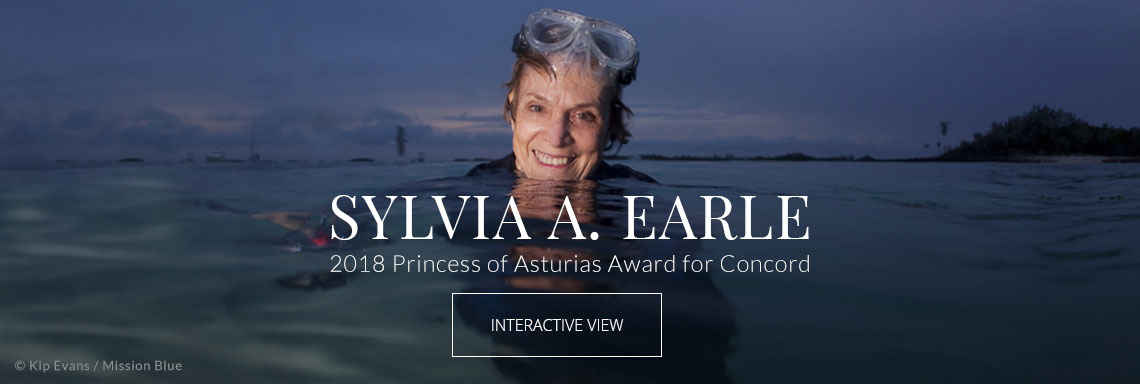 Sylvia A. Earle - 2018 Princess of Asturias Award for Concord