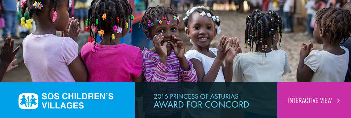 SOS Children's Villages - 2016 Princess of Asturias Award for Concord
