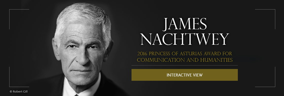 James Nachtwey, 2016 Princess of Asturias Award for Communication and Humanities