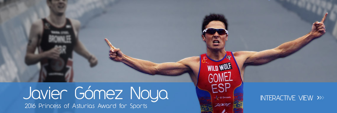 Francisco Javier Gómez Noya - 2016 Princess of Asturias Award for Sports