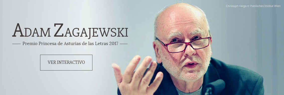 Adam Zagajewski - Premio Princesa de Asturias de las Letras 2017