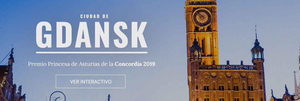 Ciudad de Gdansk - Premio Princesa de Asturias de la Concordia 2019
