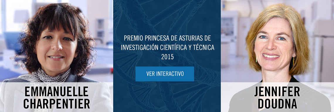 Premio Princesa de Asturias de Investigación Científica y Técnica 2015