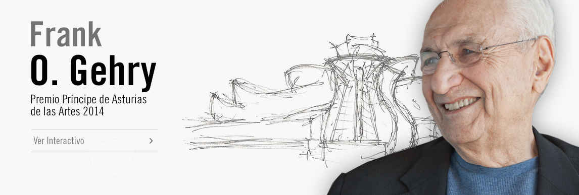 Frank O. Gehry, Premio Príncipe de Asturias de las Artes 2014