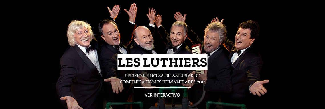 Les Luthiers - Premio Princesa de Asturias de Comunicación y Humanidades 2017