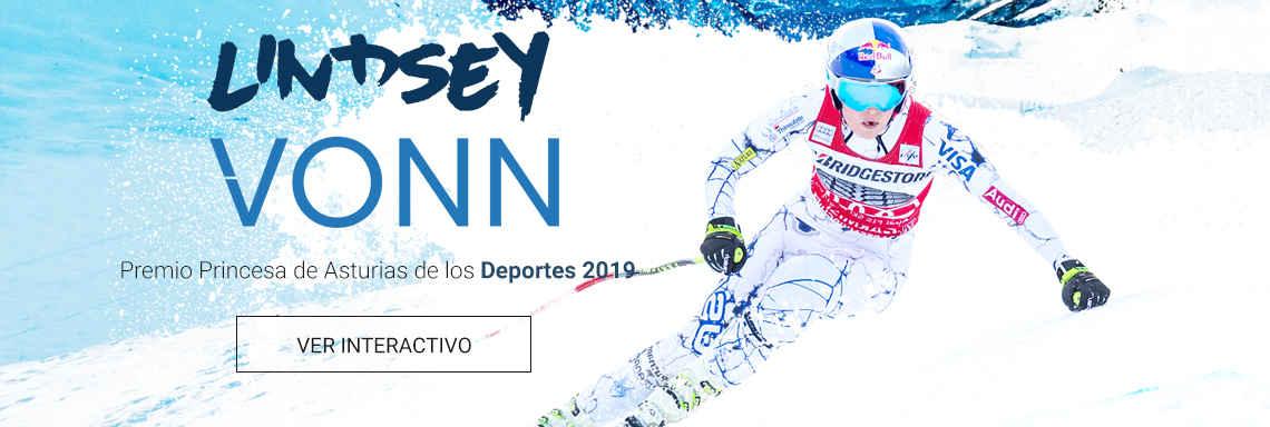 Lindsey Vonn - Premio Princesa de Asturias de los Deportes 2019