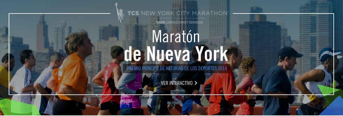 Maratón de Nueva York, Premio Príncipe de Asturias de Deportes 2014