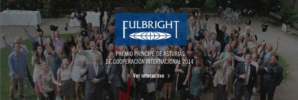 Programa Fulbright, Premio Príncipe de Asturias de Cooperación Internacional 2014