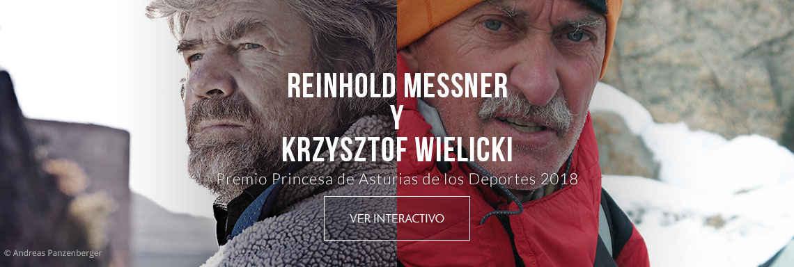 Reinhold Messner y Krzysztof Wielicki - Premio Princesa de Asturias de los Deportes 2018