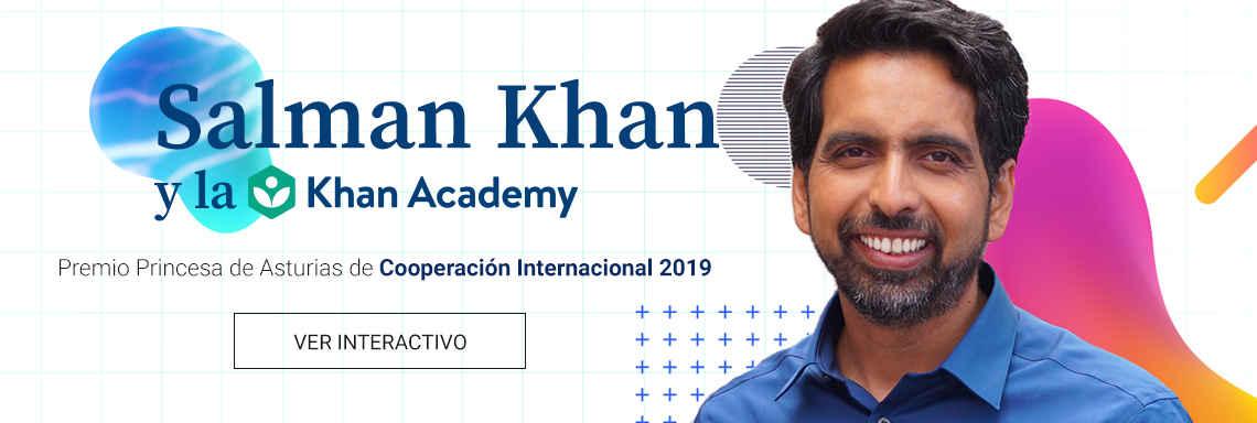Salman Khan y la Khan Academy - Premio Princesa de Asturias de Cooperación Internacional 2019