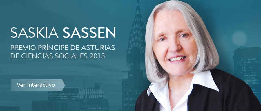 Saskia Sassen, Premio Príncipe de Asturias de Ciencias Sociales 2013