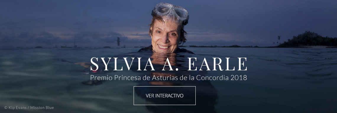 Sylvia A. Earle - Premio Princesa de Asturias de la Concordia 2018