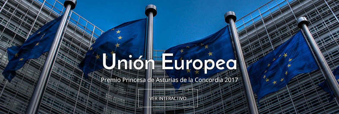Unión Europea - Premio Princesa de Asturias de la Concordia 2017