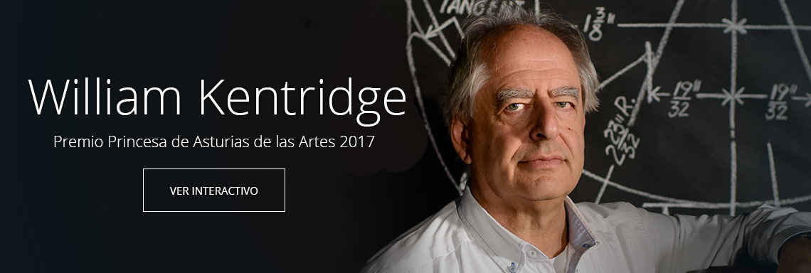 William Kentridge - Premio Princesa de Asturias de las Artes 2017