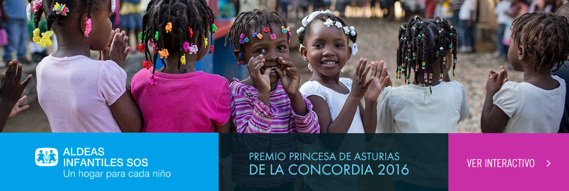 Aldeas Infantiles SOS - Premio Princesa de Asturias de la Concordia 2016