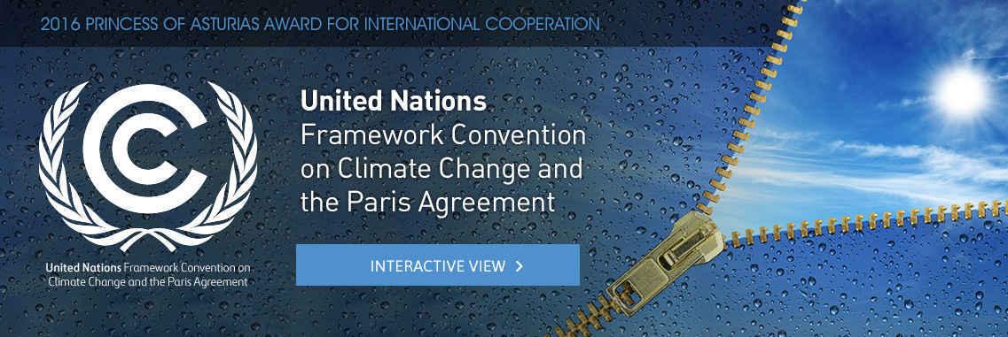Convención Marco de Naciones Unidas sobre el Cambio Climático y el Acuerdo de París