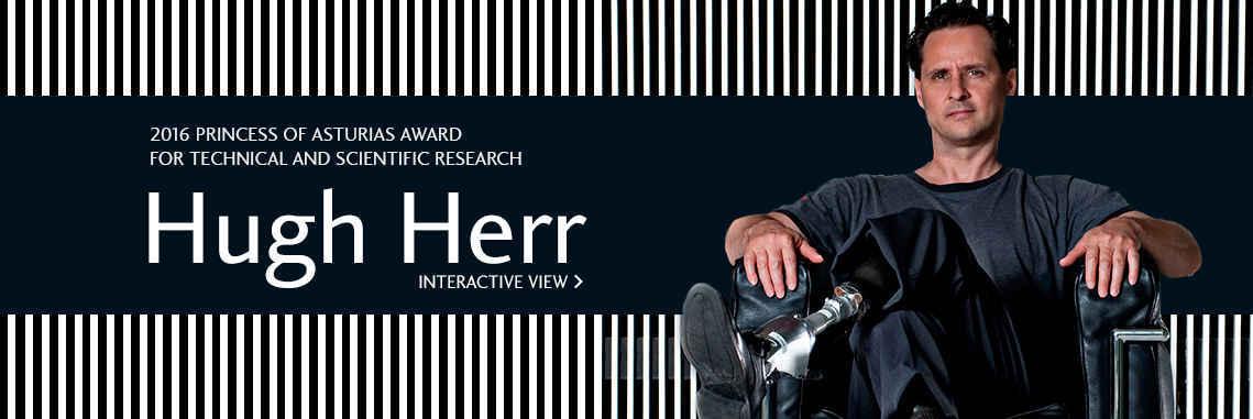 Hugh Herr - Premio Princesa de Asturias de Investigación Científica y Técnica