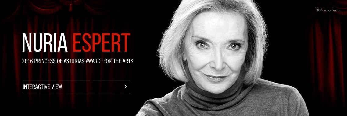 Núria Espert - Premio Princesa de Asturias de las Artes 2016