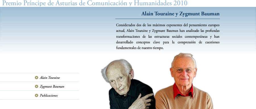 Alain Touraine y Zygmunt Bauman