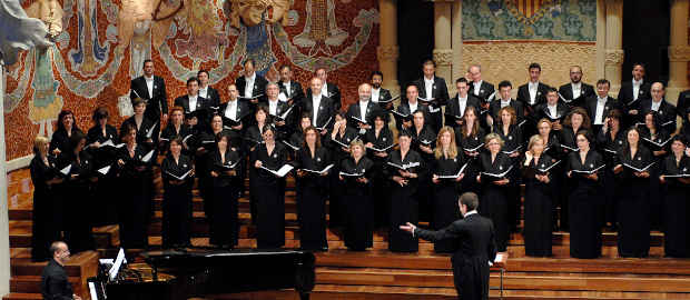 Foundation Choir at the Royal Theater in Madrid.
