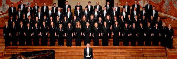 Foundation Choir at the Palau de la Música Catalana.