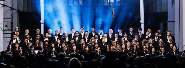 Foundation Choir at the Palau de la Música Catalana.