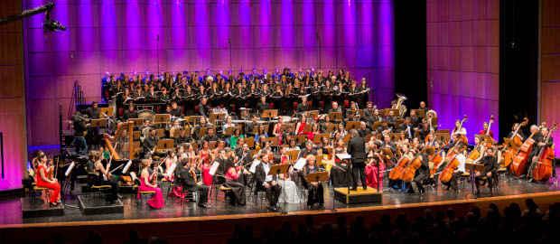 Actuación del Coro de la Fundación en la Catedral de San Patricio de Nueva York.