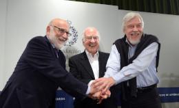 Peter Higgs, François Englertand CERN