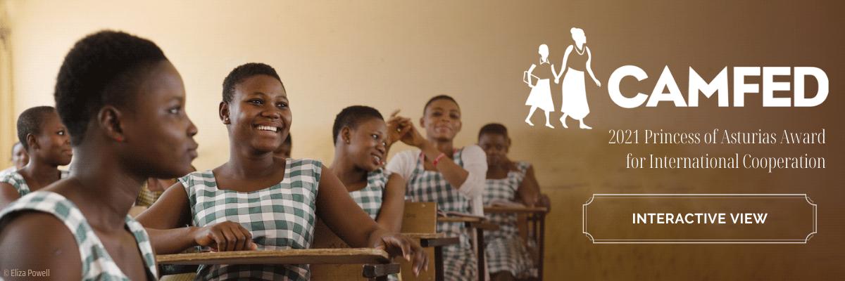 CAMFED, Campaign for Female Education - 2021 Princess of Asturias Award for International Cooperation