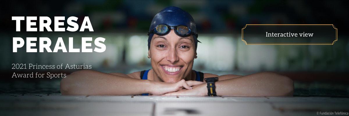 Teresa Perales - 2021 Princess of Asturias Award for Sports
