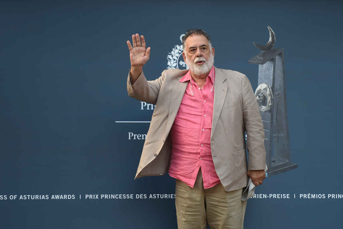 Arrival of Francis Ford Coppola
