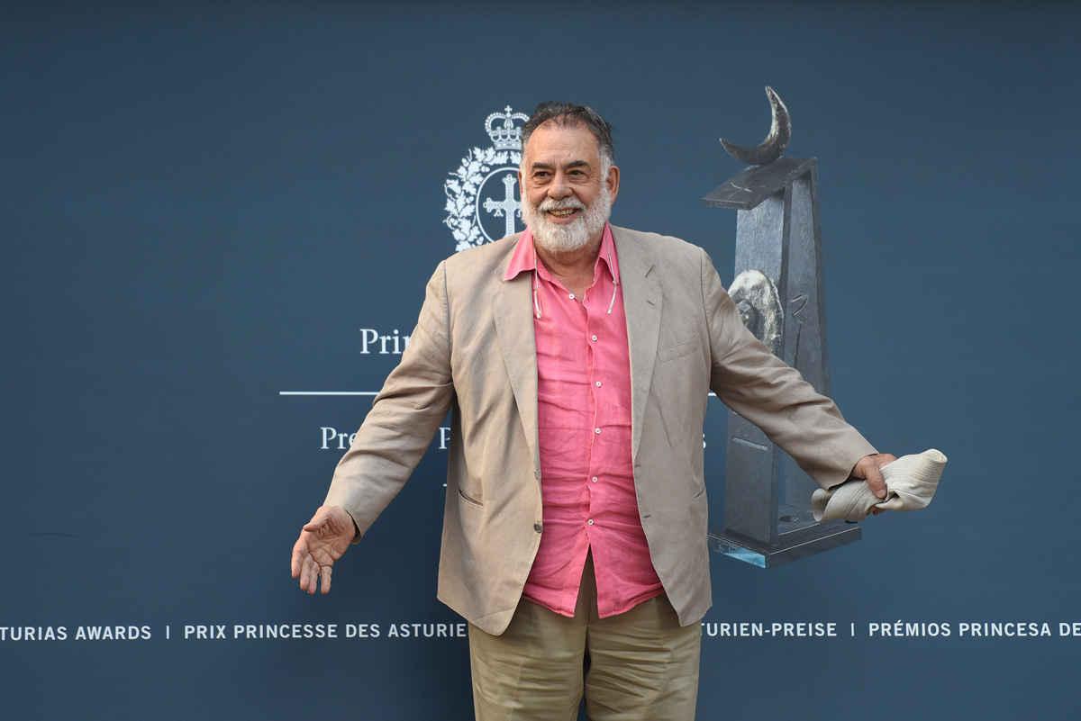 Llegada de Francis Ford Coppola