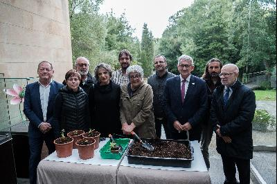 Visit by Joanne Chory and Sandra Myrna Díaz to Gijón's Atlantic Botanical Gardens